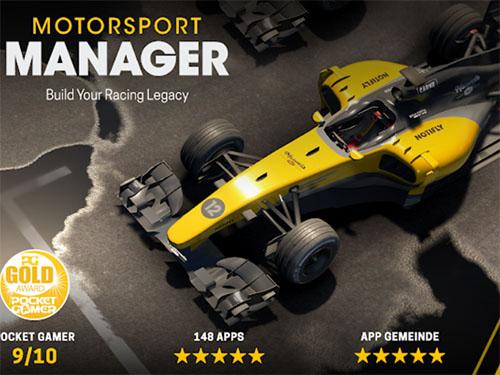 Závodní hra Motorsport Manager Mobile 2