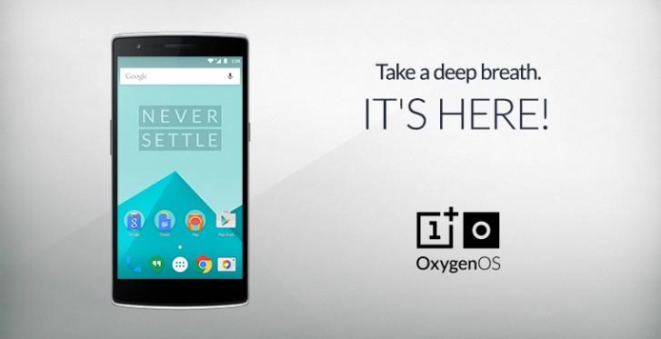 OnePlus one Oxygen