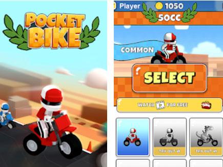 Hra Pocket Bike