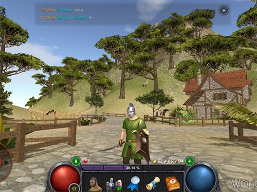 Hra World Of Rest: Online RPG