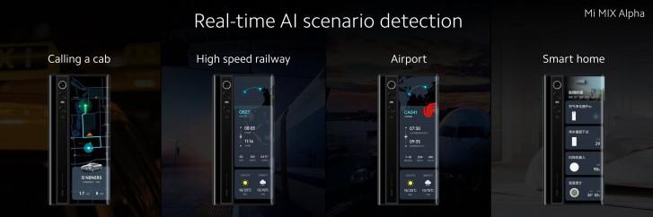 Xiaomi Mi Mix Alpha AI displej
