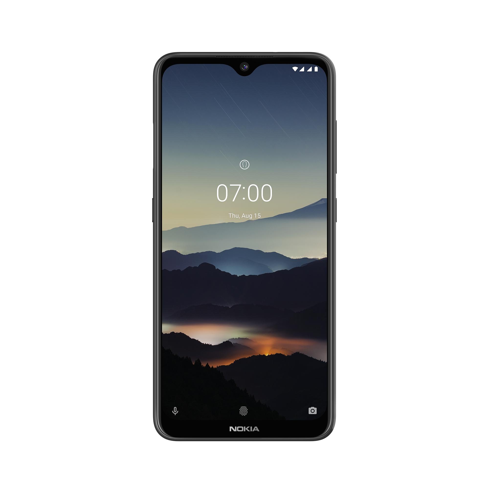 Přední část telefonu Nokia 7.2