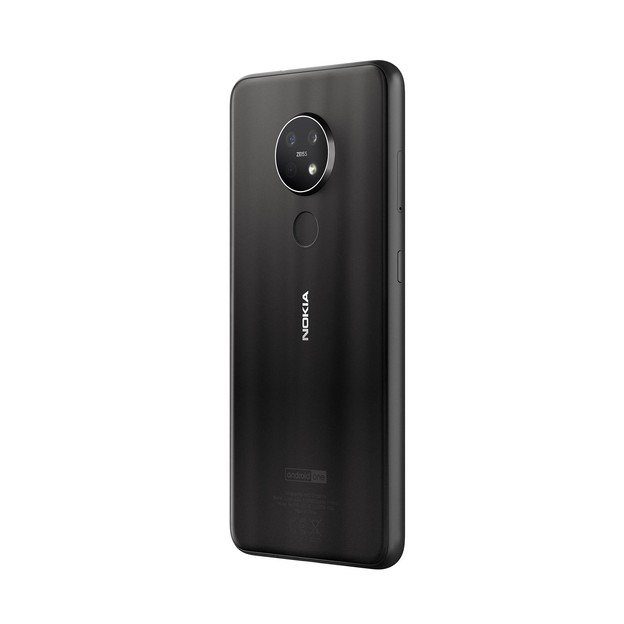Zadní část telefonu Nokia 7.2
