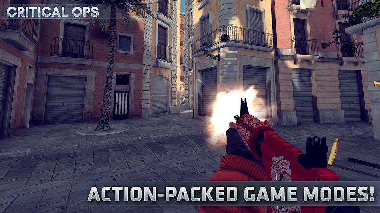 Hra online Critical Ops: FPS pro více hráčů