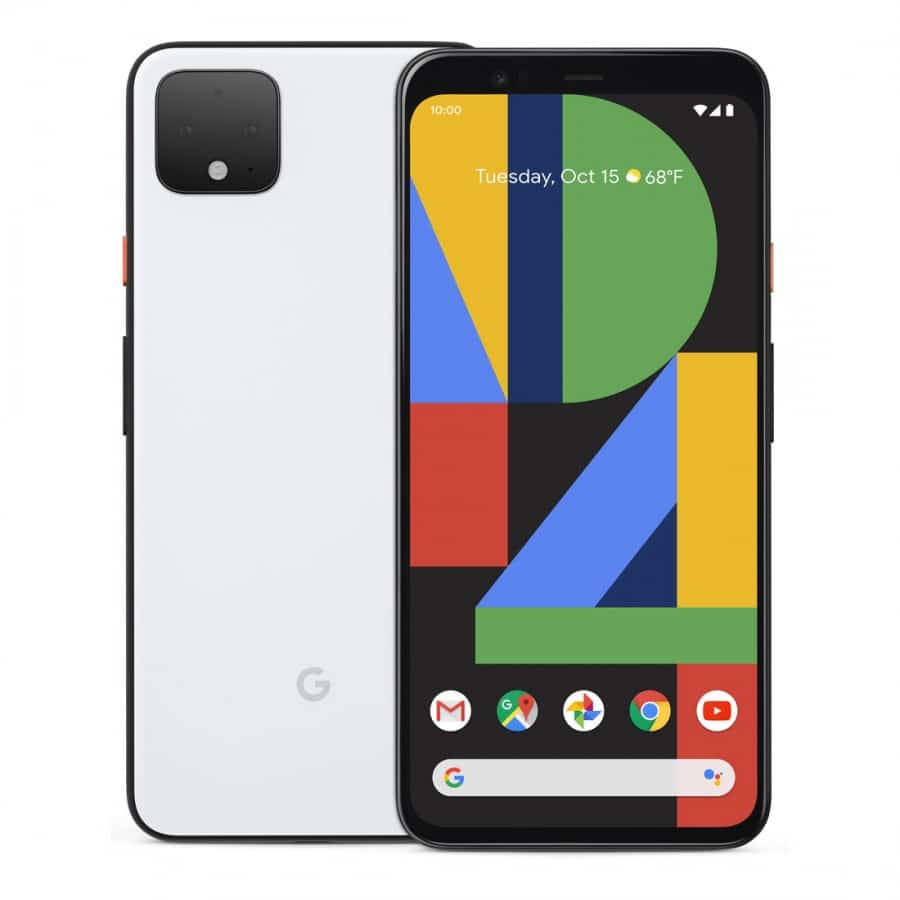 Pixel 4 - bílá barva