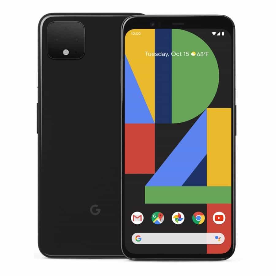 Google Pixel 4 - černá barva