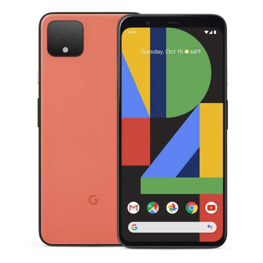 Pixel 4 - oranžová barva