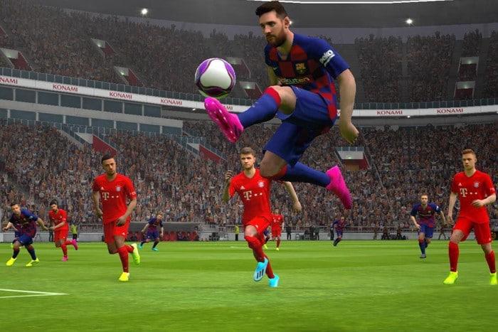 Hra eFootball PES 2020