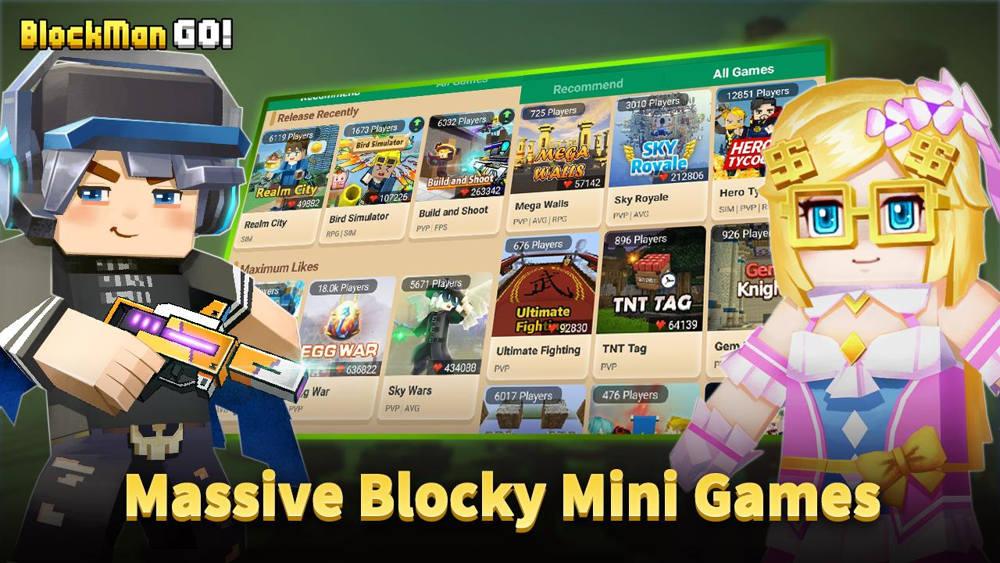 Hra Blockman Go: Blocky Mods