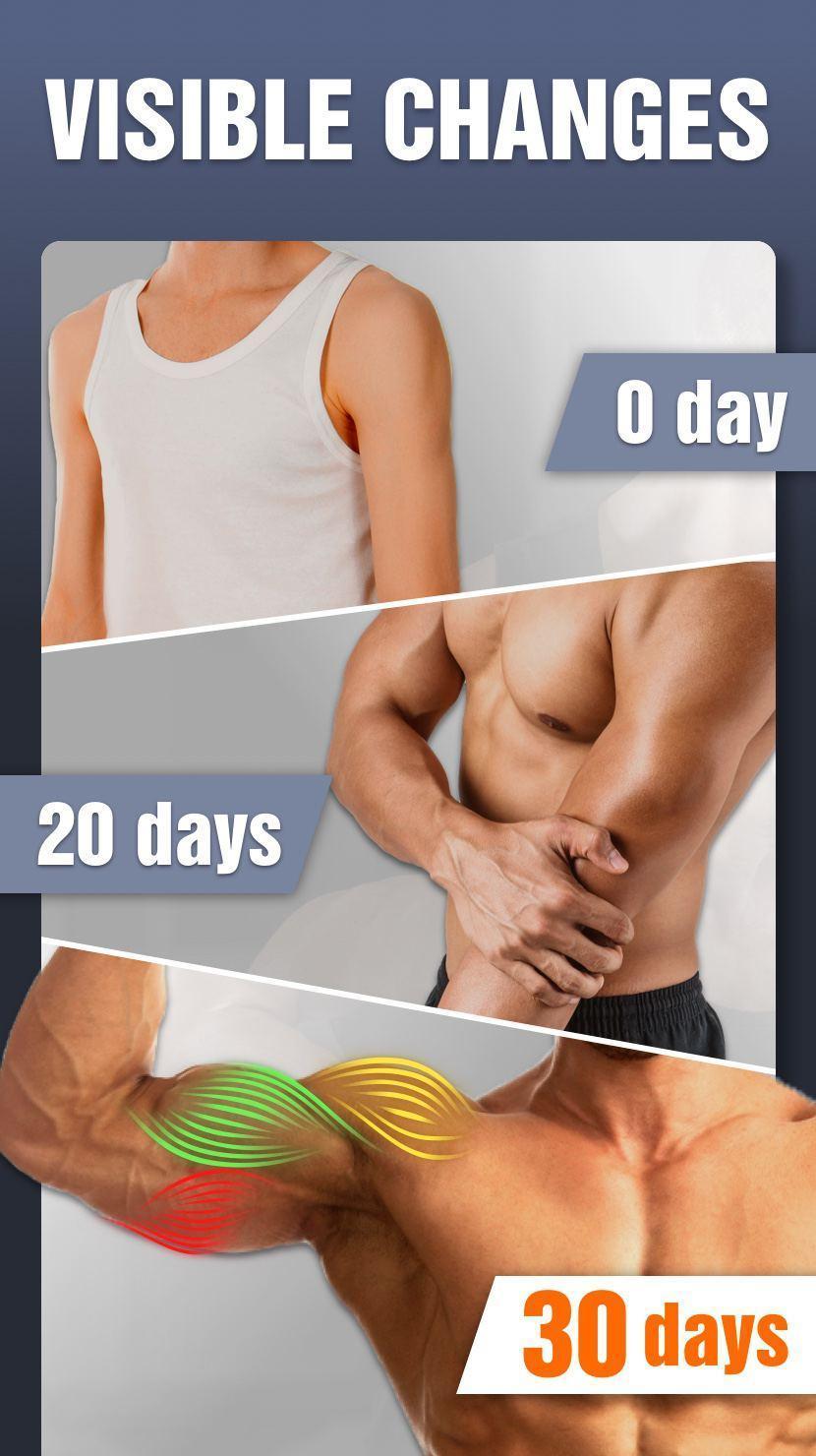 Aplikace ARM workout