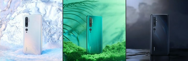 Xiaomi Mi CC9 Pro barevné kombinace
