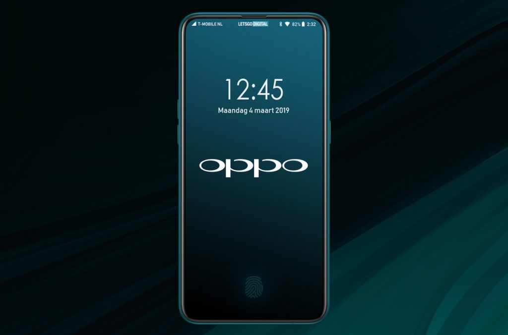 Patentovaný Oppo telefon