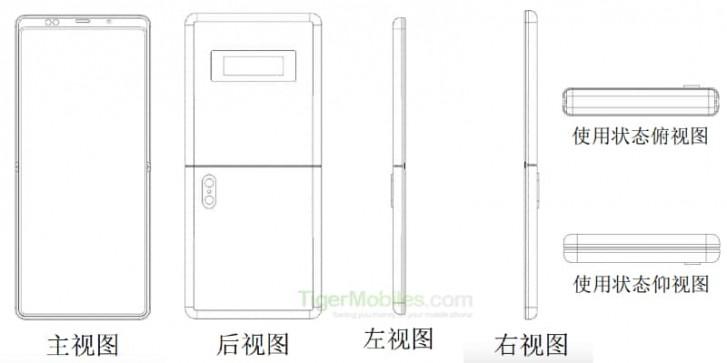 Patent Xiaomi na klasické véčko
