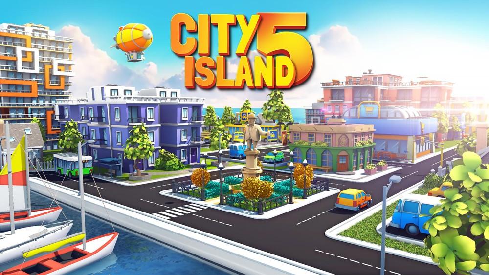 Hra na mobil City Island 5
