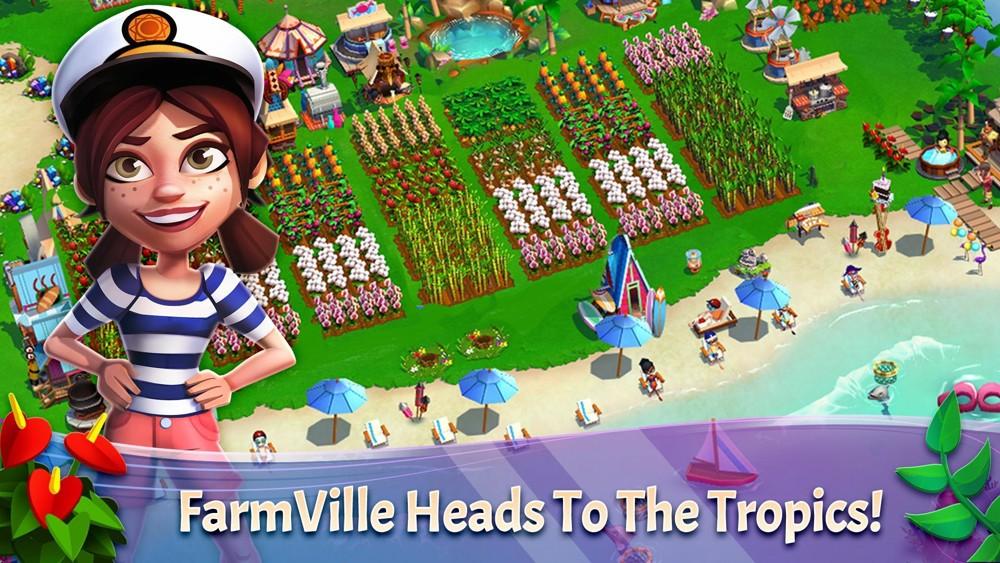 Hra FarmVille 2: Tropic Escape