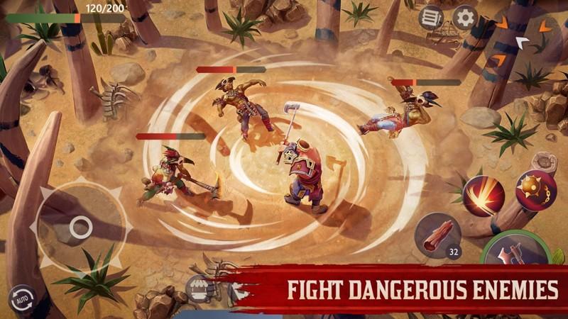 Hra na mobil Exile Survival