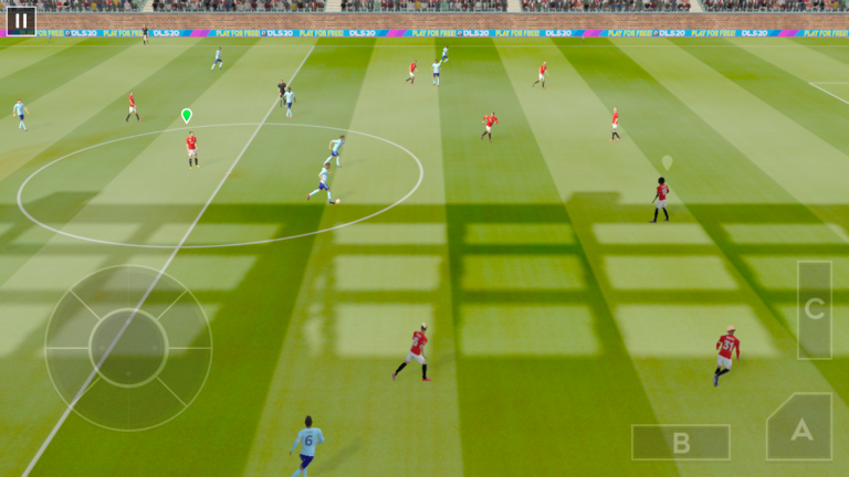 Hra na PC Dream League Soccer 2020
