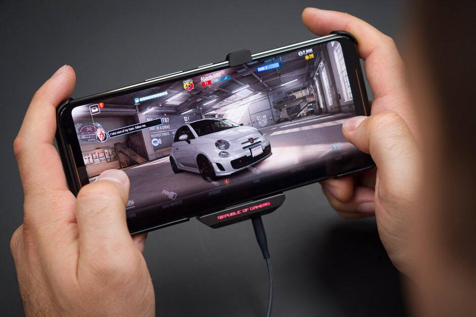 Silný Hardware - asus rog phone