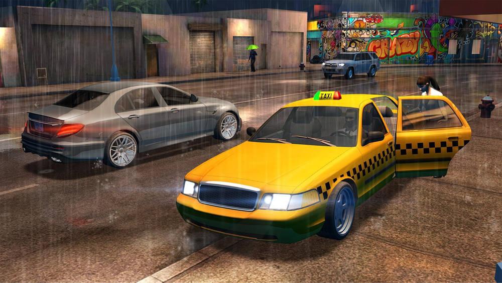 Hra Taxi Sim 2020