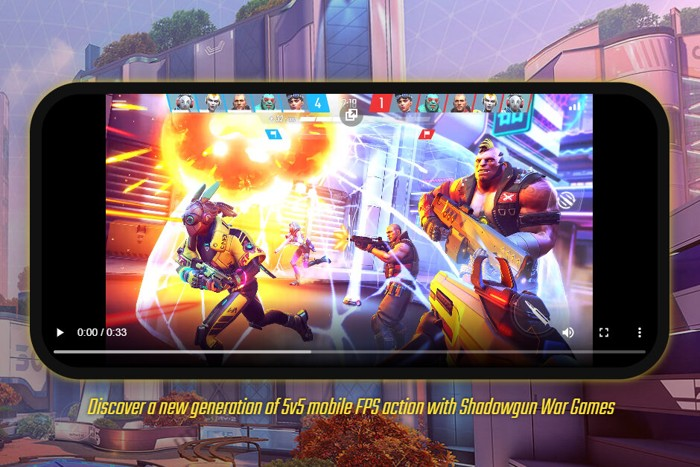 Hra na mobil Shadowgun: War Games