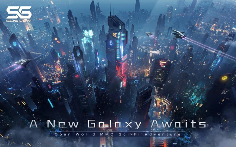 Hra na mobil Second Galaxy