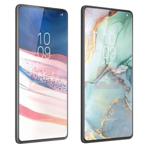 Samsung Galaxy S10 Lite rendery