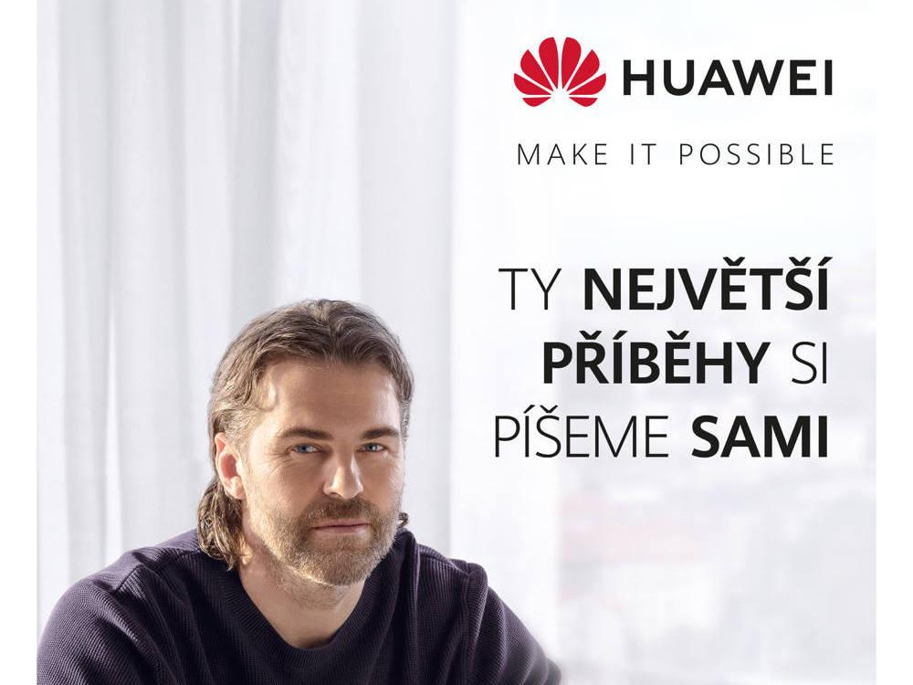 Jaromír Jágr Huawei