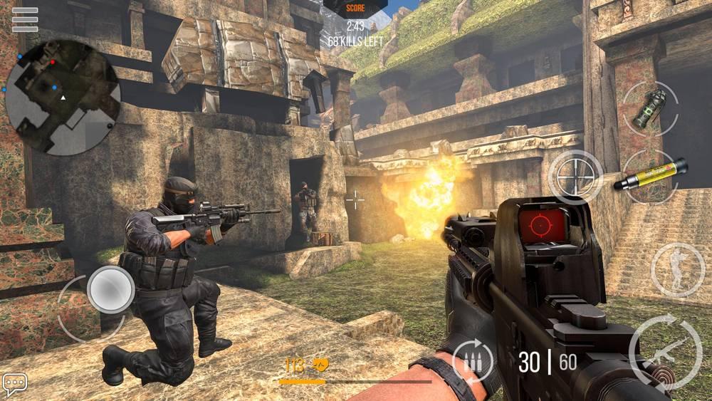 Hra na PC Modern Strike Online