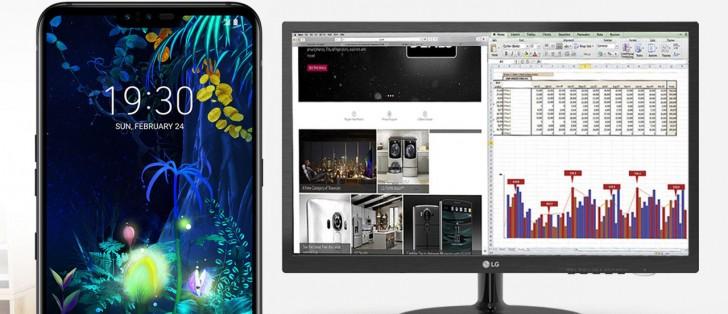 LG Desktop mód Android 10