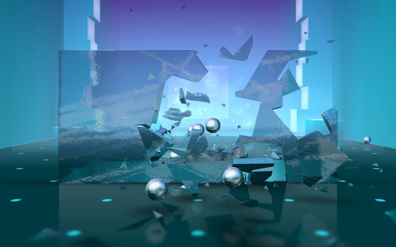 Hra na mobil Smash Hit