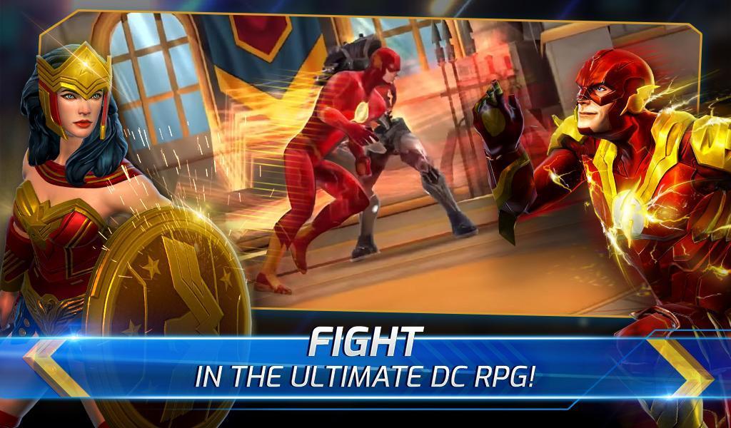 Hra na mobil DC Legends