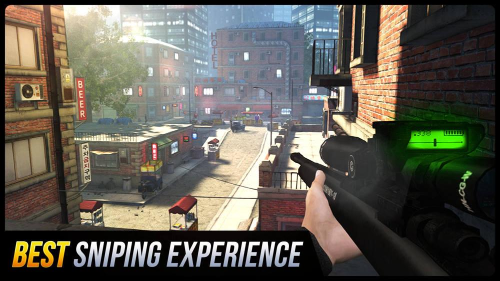 Hra na mobil Sniper Honor