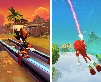 Hra na mobil Sonic Dash 2: Sonic Boom