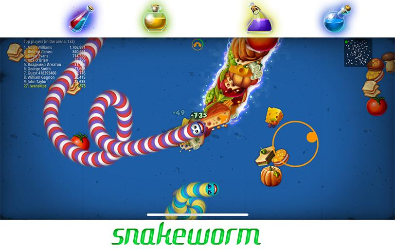 Hra na PC Snake zone