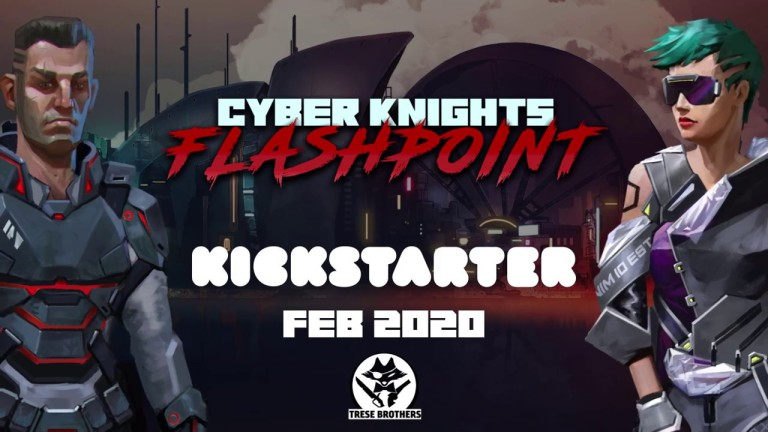 Hra na PC Cyber Knights: Flashpoint