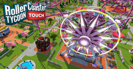 Hra RollerCoaster Tycoon Touch