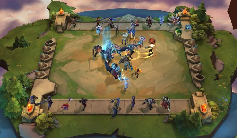 Hra na mobil Teamfight Tactics
