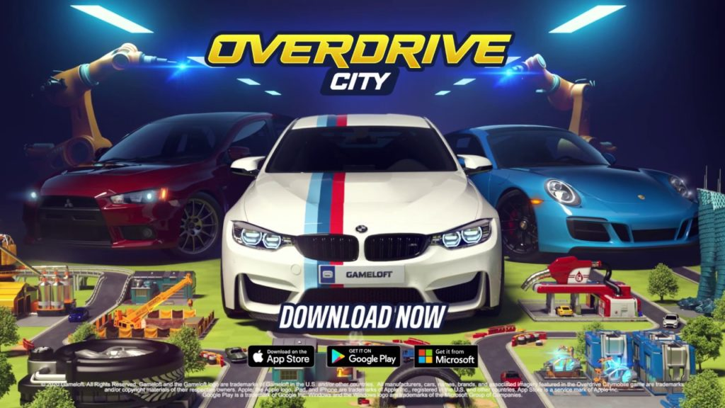 Overdrive City hra na mobil