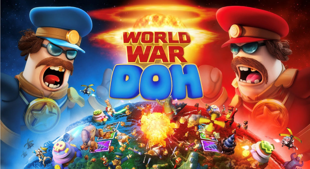 Hra na mobil World War Doh