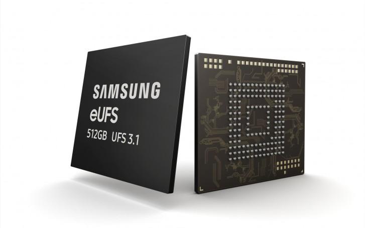 512 GB eUFS 3.1