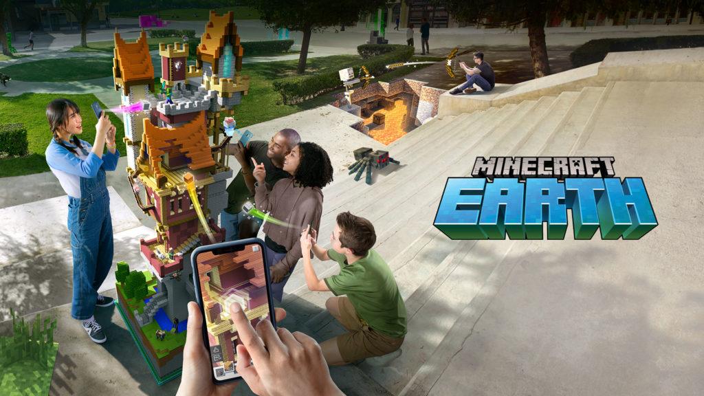 Minecraft Earth AR