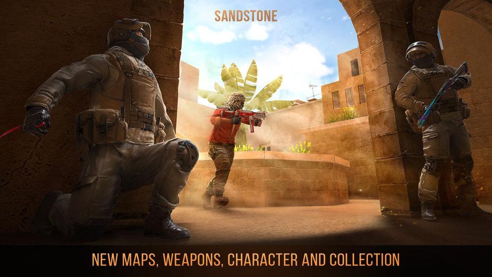 Hra na mobil Standoff 2