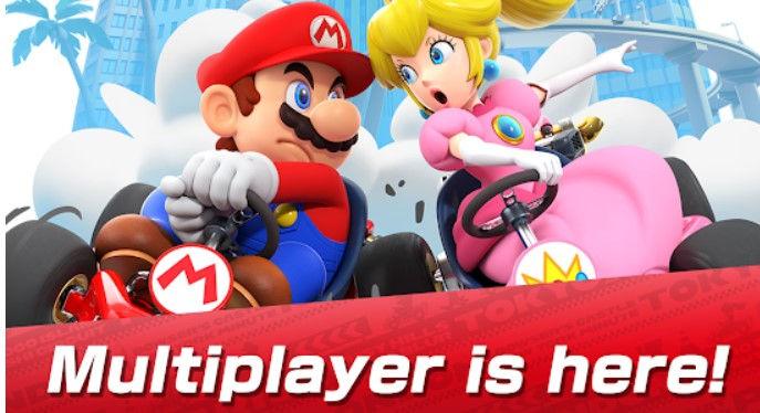 Hra na mobil Mario Kart Tour
