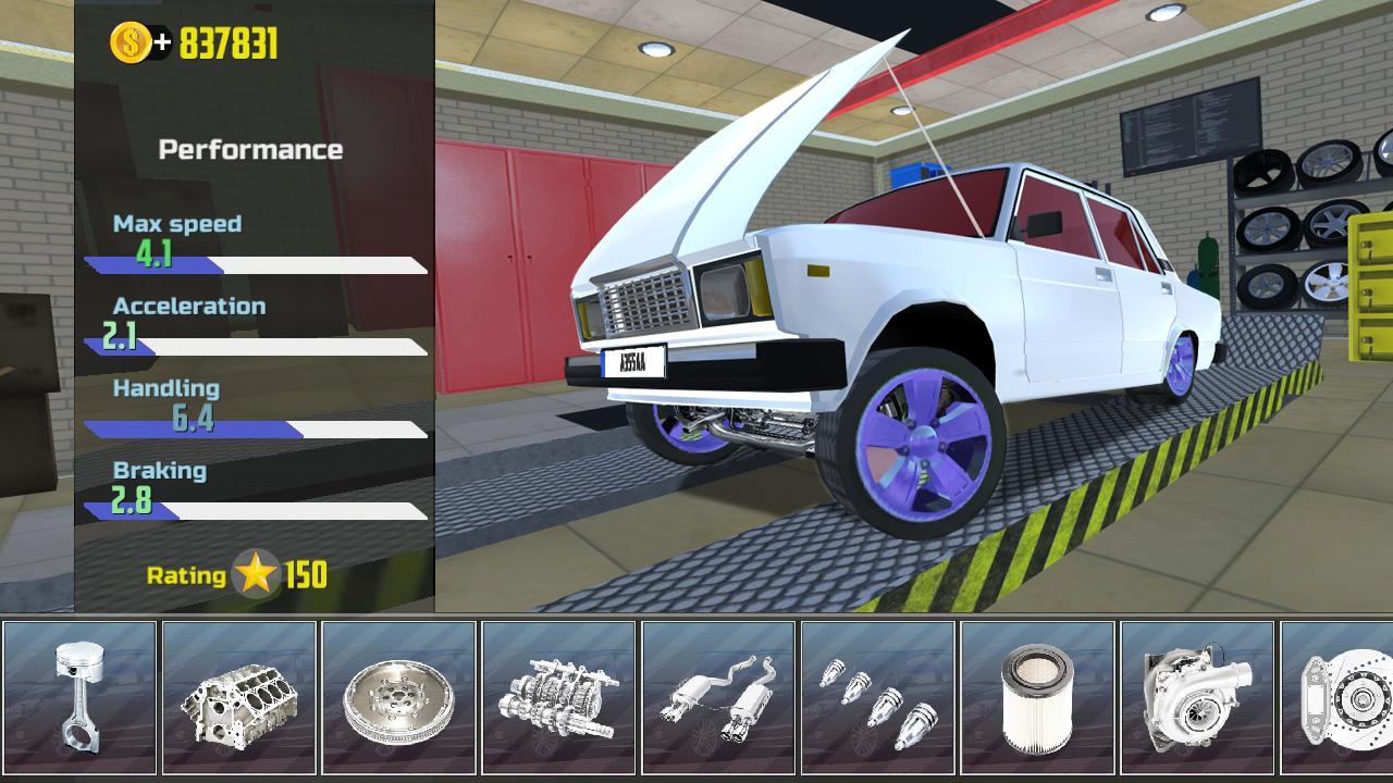 Hra na mobil Car Simulator 2