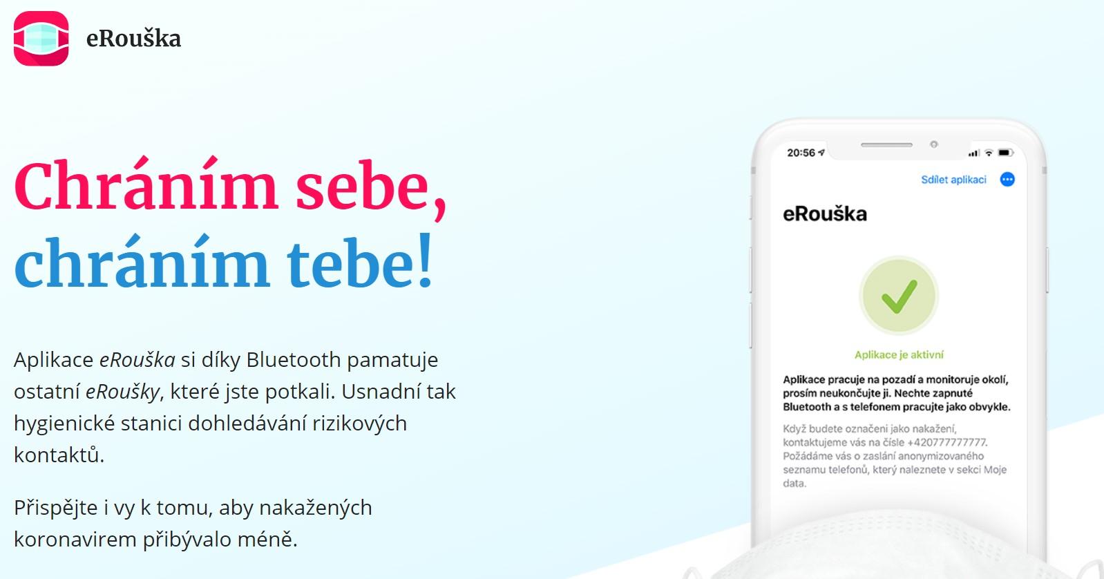 Aplikace eRouška