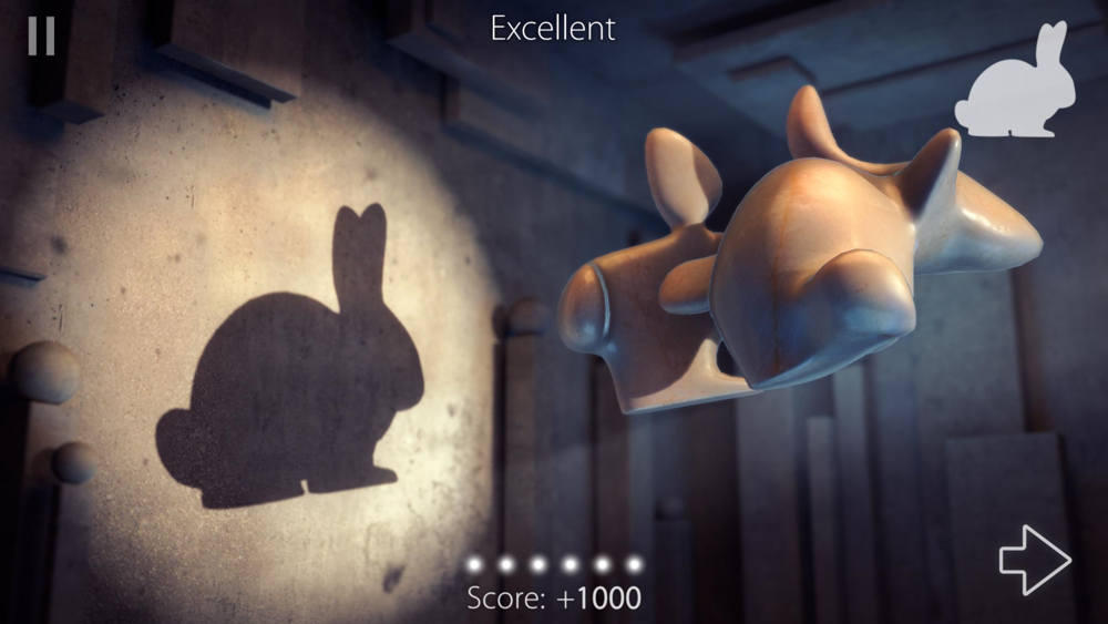 Hra na mobil Shadowmatic