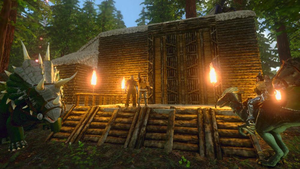 Hra na mobil ARK: Survival Evolved