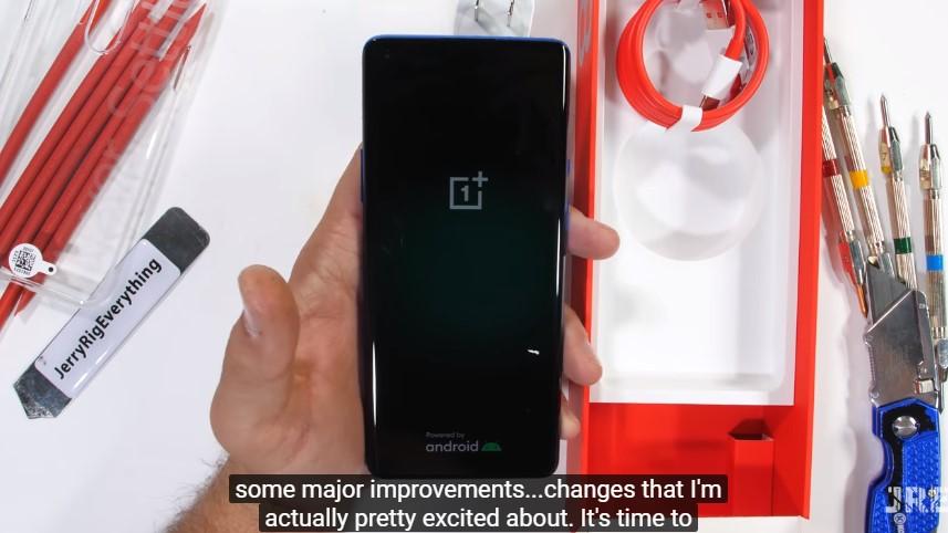 OnePlus 8 test odolnosti