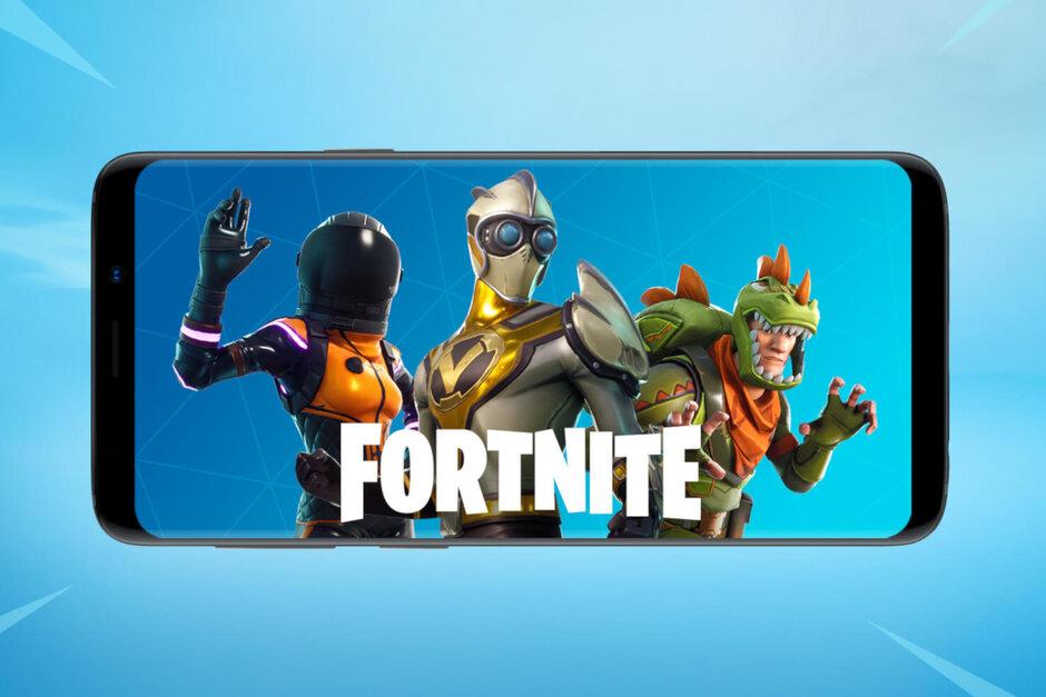 Hra Fortnite na Google obchodě