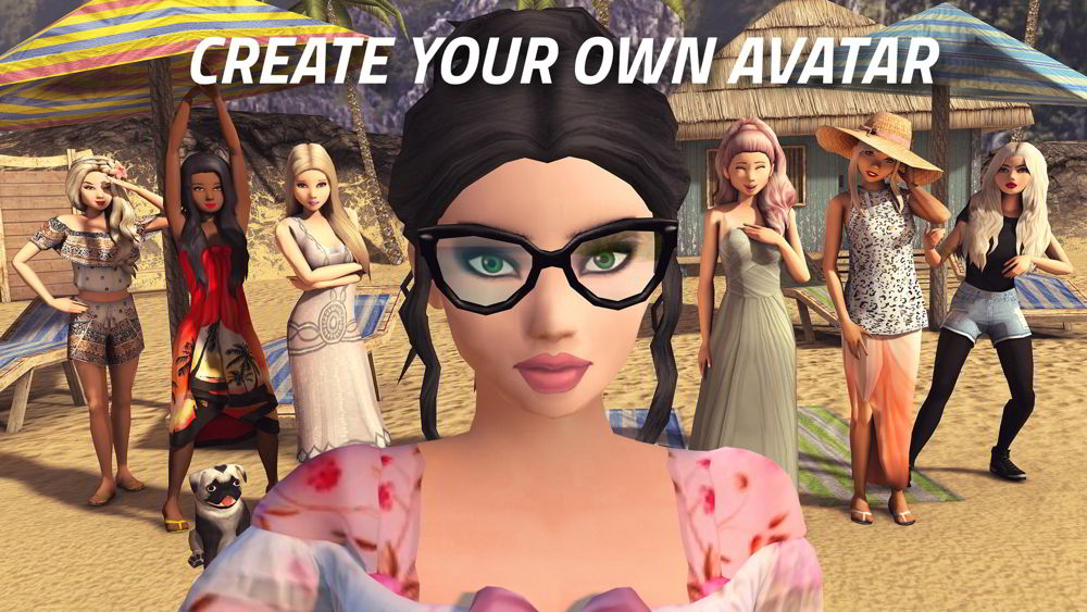 Hra na mobil Avakin Life